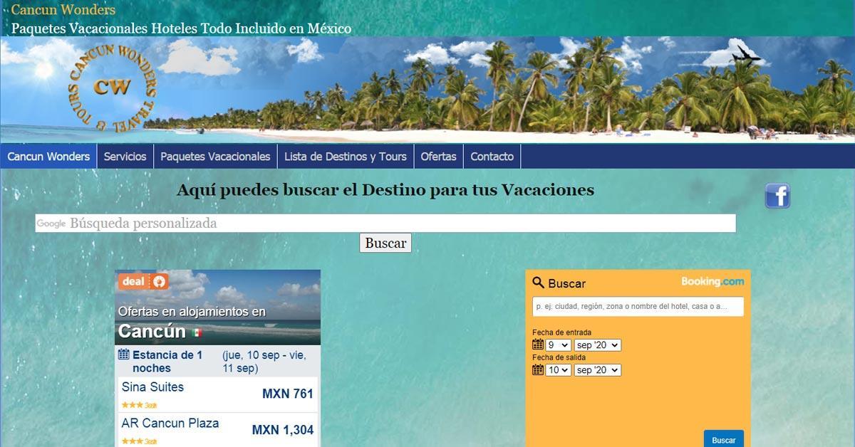 Cancun Wonders Hoteles Vuelos y Más